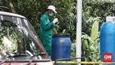 Caesium-137 yang ditemukan bukan merupakan zat radioaktif yang seharusnya berada di alam atau pemukiman warga. (CNN Indonesia/Andry Novelino)
