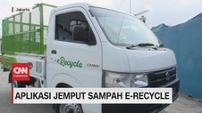 VIDEO: Aplikasi Jemput Sampah E-recycle