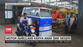 VIDEO: Motor Ambulans Karya Anak SMK Negeri