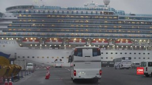 VIDEO: AS Evakuasi 400 Warga dari Kapal Pesiar Sumber Corona