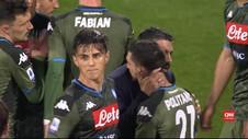 VIDEO: Tundukkan Cagliari 0-1, Napoli Naik Posisi