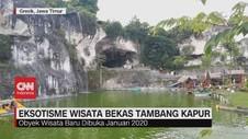 VIDEO: Eksostisme Wisata Bekas Tambang Kapur