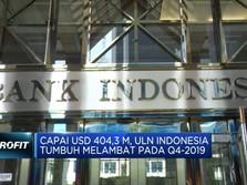 Capai USD 404,3 M, Utang Luar Negeri Melambat Pada Q4-2019
