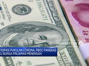 Sadar Pukulan Corona, Bank Sentral China Beri Insentif Lagi