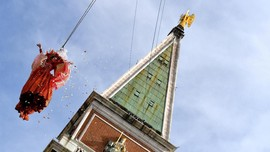 'Malaikat' Terbang Buka Venice Carnival 2020