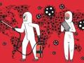 INFOGRAFIS: Penyebaran Wabah Virus Corona di Seluruh Dunia