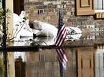 Bukan Jakarta, Ini Mississipi di AS yang Terendam Banjir