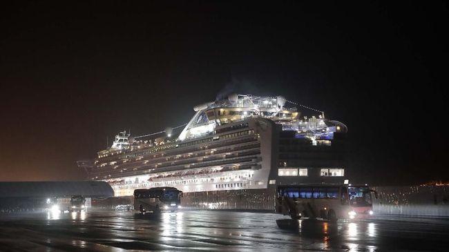 WNI di Kapal Diamond Princess Gembira Segera Dievakuasi