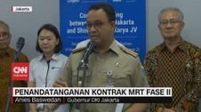 VIDEO: MRT Fase II Dimulai pada Maret 2020