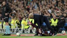 Madrid Tertahan, Zidane Tersungkur Ditabrak Bek Celta Vigo