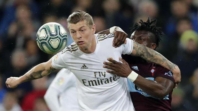 Hasil Liga Spanyol: Real Madrid Gagal Menang Lawan Celta Vigo