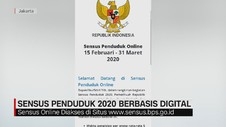VIDEO: Sensus Penduduk 2020 Berbasis Digital