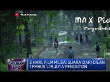 Baru Hari Ketiga, Film Milea Tembus 1 Juta Penonton