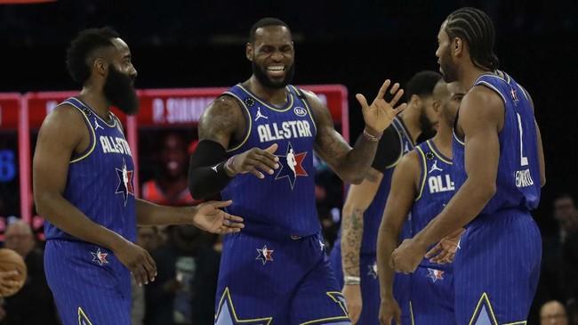 FOTO: Tim LeBron, Bintang Juara di NBA All Star 2020