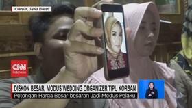 VIDEO: Diskon Besar, Modus Wedding Organizer Tipu Korban