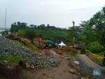 Tinjau Lokasi Longsor, Basuki: Tol Cipularang KM 118 Aman!