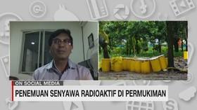 VIDEO: Penemuan Senyawa Radioaktif Di Permukiman
