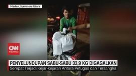 VIDEO: Petugas Gagalkan Penyelundupan Sabu-sabu 33,9 Kg