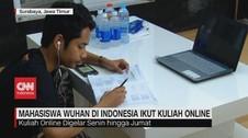 VIDEO: Mahasiswa Wuhan di Indonesia Ikut Kuliah Online