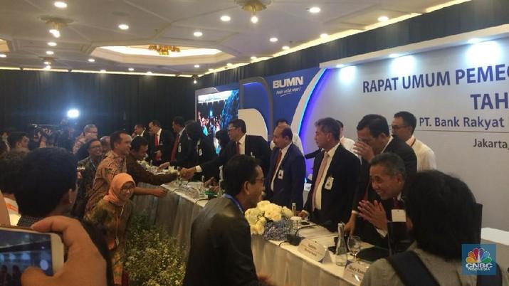PT Bank Rakyat Indonesia Tbk (BBRI) ternyata tidak mengubah target pada 2020.