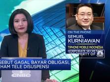 Disuspensi,TELE: Ada Kesalahan Pencatatan Pembayaran Obligasi