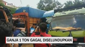 VIDEO: BNN Gagalkan Penyelundupan Ganja Seberat 1 Ton