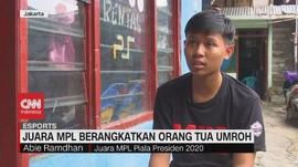 VIDEO: Juara MPL Berangkatkan Orang Tua Umroh