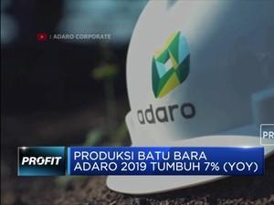 Produksi Batu Bara Adaro Tumbuh 7% (YOY) pada 2019