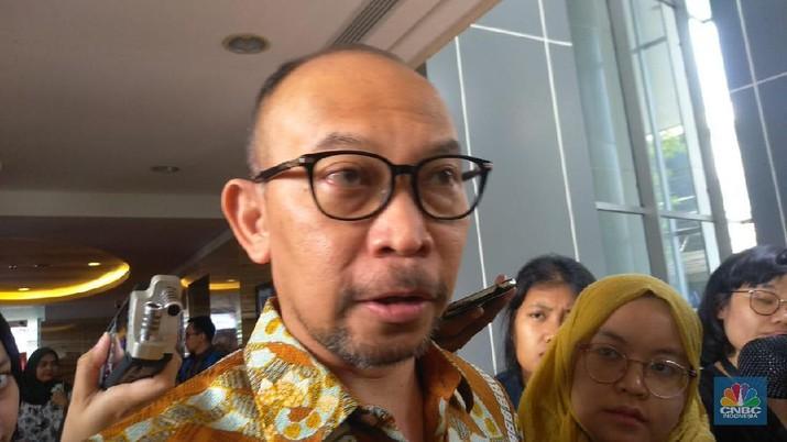 Wakil Komisaris Utama Bank Mandiri, Chatib Basri  (CNBC Indonesia/Cantika Adinda Putri)