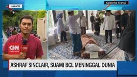 VIDEO: Jenazah Ashraf Sinclair Tiba di Rumah Duka