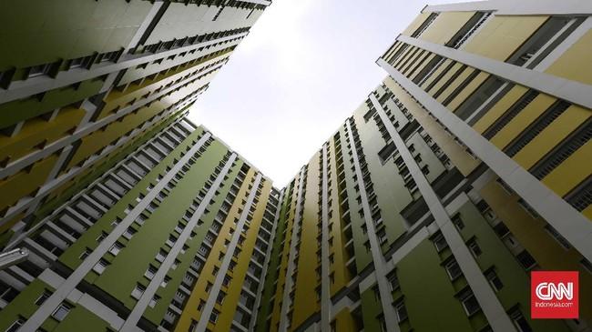 Kementerian PUPR telah menyerahkan pengelolaan Rusun Pasar Rumput kepada Pemprov DKI Jakarta. (CNNIndonesia/Safir Makki).