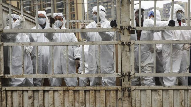 Kasus Corona Melonjak, Prancis Terapkan Lockdown N