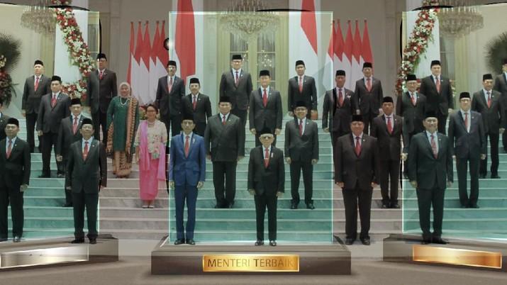 Presiden mengatakan semua anggota kabinet diperintahkan untuk fokus terhadap fungsi kementeriannya masing-masing dan segera dapat beradaptasi.