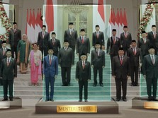 Jokowi Tegaskan Belum Ada Rencana Rombak Kabinet