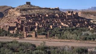 FOTO: Nasib Ironis Benteng Game of Thrones di Maroko