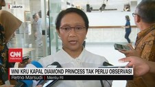 VIDEO: WNI Kru Kapal Diamond Princess Tak Perlu Diobservasi