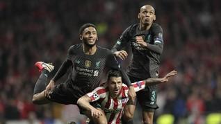 Liverpool Habis Akal di Markas Atletico