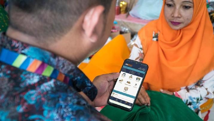 Digitalisasi Penyaluran Kredit Mikro (Dok. BRI)