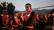 FOTO: Festival Panen Suku Naga Myanmar