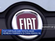 Corona Belum Reda, Fiat & Toyota Tetap Buka Pabrik Minggu Ini