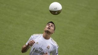 Resmi Diperkenalkan Madrid, Pemain Muda Brasil Menangis