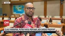 VIDEO: Claus Wamafma, Putra Papua Jadi Direksi Freeport