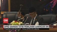VIDEO: Tatib Pemilihan Cawagub DKI DIsahkan