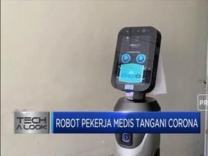 Canggihnya Robot Medis Perawat Pasien Corona Asal China