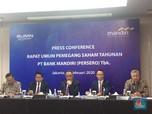 Bank Mandiri Tebar Dividen Rp 16 T, AISA Berpotensi Delisting