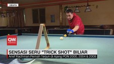 VIDEO: Sensasi Seru 'Trick Shot' Biliar