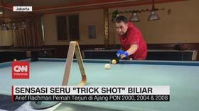 VIDEO: Sensasi Seru 'Trick Shot' Biliar