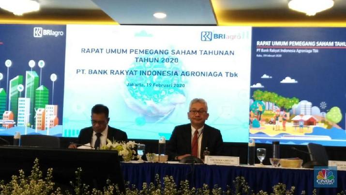 PT Bank Rakyat Indonesia Agroniaga Tbk (BRI Agro) mencatat laba bersih Rp 51,06 miliar sepanjang tahun lalu, turun 75,49% dibanding tahun 2018.