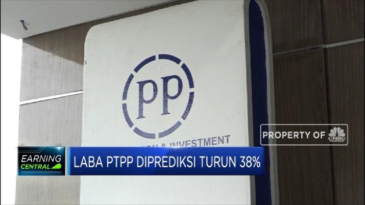 Laba PTPP Diprediksi Turun 38% (CNBC Indonesia TV)