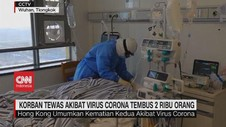 VIDEO: Korban Tewas Akibat Virus Corona Tembus 2 Ribu Orang